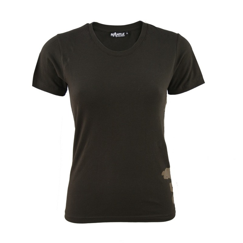 Mantle T-Shirt Woman braun