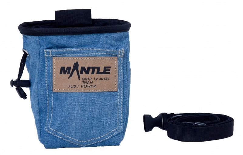 Mantle Chalkbag Jeans hell