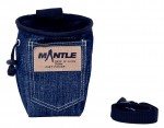 Mantle Chalkbag Jeans dunkel